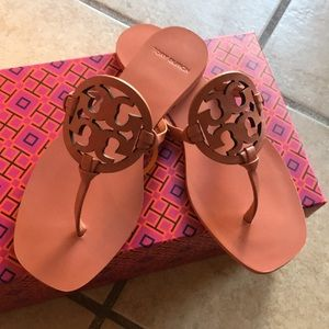Tory Burch square sandals Tramonto Sz 6